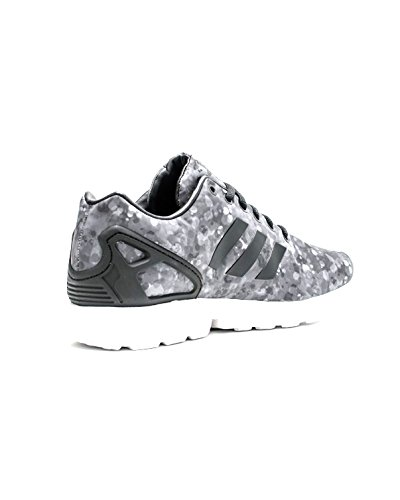 Adidas Mens Zx Flux White Bergbeklimmen Zwart / Grijs / Wit Af6228