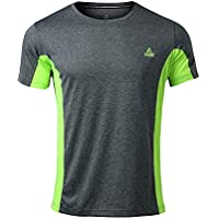Peak Mens Quick Dry Short Sleeve T-Shirt