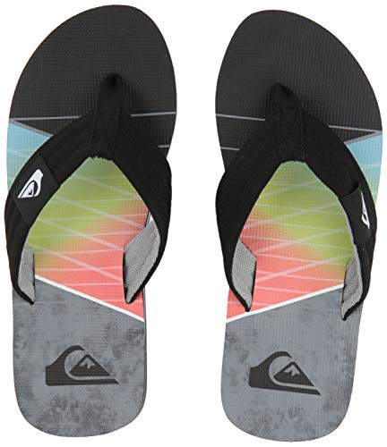 Quiksilver Men's Molokai Layback Sandal Grey/Black, 11(44) M US from Quiksilver