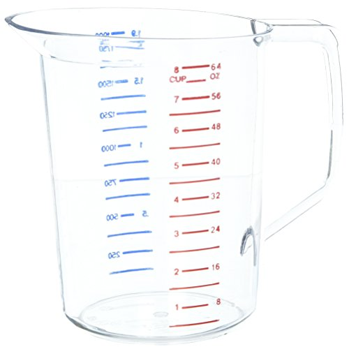 Rubbermaid Commercial Capacity Polycarbonate Measuring product image