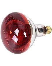 YakeHome 275w Lámpara De Fisioterapia Eléctrica - Lámpara De Onda Electromagnética Infrarroja Que Cuece El Bulbo Eléctrico Rojo