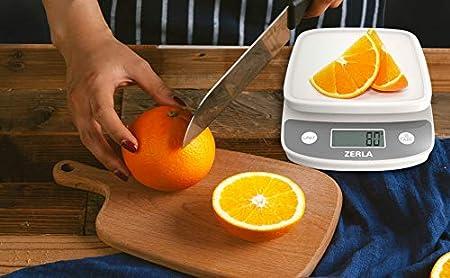 Amazon.com: Báscula de cocina digital por Zerla — Versátil ...