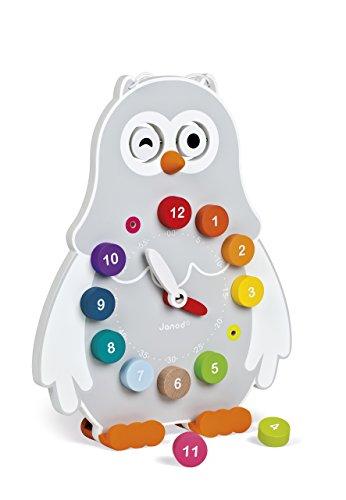 Janod Owly Clock by Janod