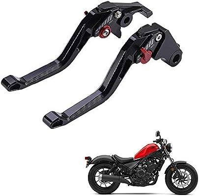 Fury//VTX1300CX 09-18 VT750 Phantom//Shadow 10-17 Black Spirit 14-16 Unlimited 6 Adjustable Position Black Brake Clutch Lever for Honda CMX 500//300 Rebel//500 Rebel 17-18 NC750 S//X 14-15