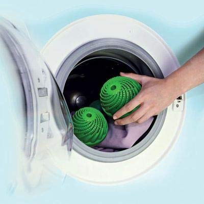 Home Green Wash Ball Laundry Ball, Wash Your Laundry Without Detergent, Environmentally Friendly and Money-Saving, Lasts Up to 1,000 Loads, Green
