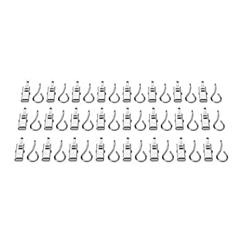 Amazon.com: Ikea 802.122.01 Riktig Curtain Hook with Clip, 24-Pack ...