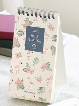 Iconic Weekly, Monthly Desk Pad Ver.2 / Pattern Scheduler (Daily To Do) Weekly Monthly Desk