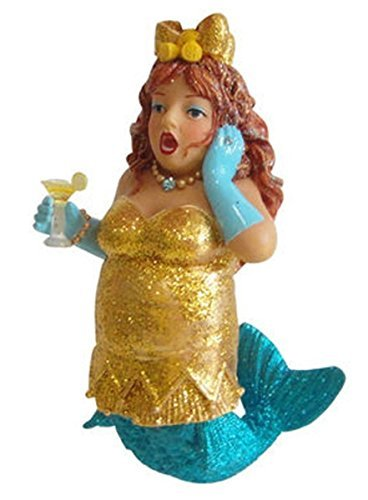 December Diamonds Lemon Drop Mermaid Ornament