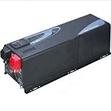 ZODORE PFV Series 3000w Peak 9000w Solar Inverter with Charger,Built in with MPPT 60amp,24v/110v, Lcd, Pure Sine Wave Inverter/combined Solution for Off Grid Solar System, Inverter/ac Charger/transfer Switch/solar Charger.all in One! 29kg! High Quality!