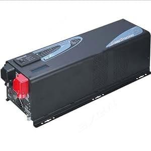 ZODORE PF Serie Inversor de onda senoidal pura 4000w / 12000w pico. DC 48V/230V AC,Inversor/Cargador,LCD
