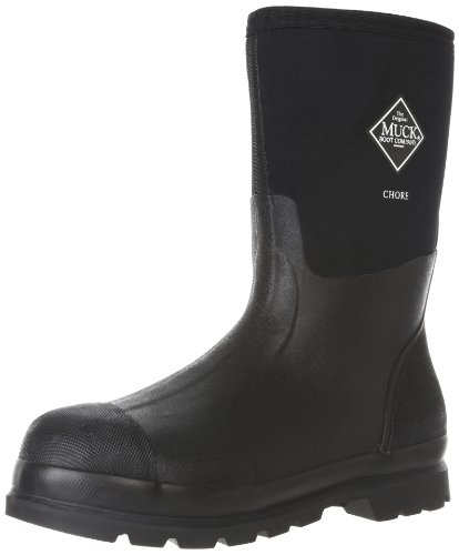 The Original MuckBoots Adult Chore Mid Boot,Black,Men's 14 M/Women's 15 M (Mens All Condition Shoes compare prices)