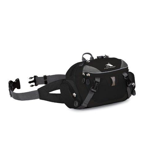 High Sierra Envoy Lumbar Pack (Black, 10.5x 6.5x 4-Inch), Outdoor Stuffs