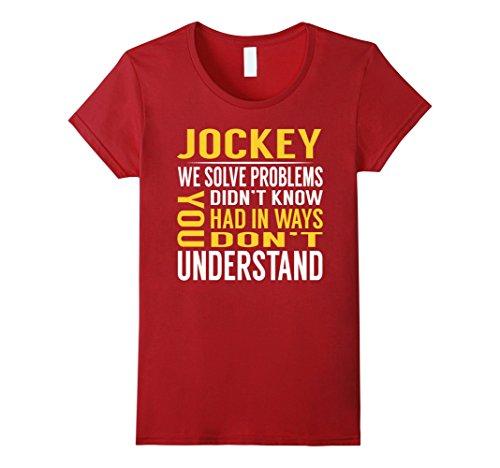 Womens Jockey Solve Problems TShirt XL Cranberry