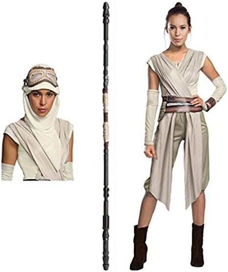 The Force Awakens Star Wars Rey Adult Costume