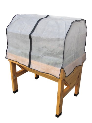 VegTrug Small Wall hugger Greenhouse Micromesh Cover by Veg Trug