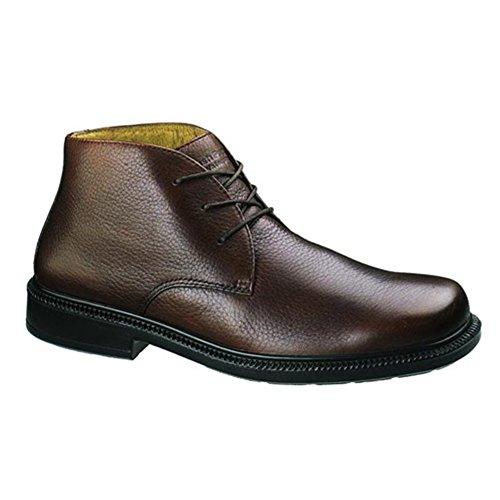 Hush Puppies Men's Broker WP Chukka Boots Brown 8 (Hush Puppies Casual Boot)
