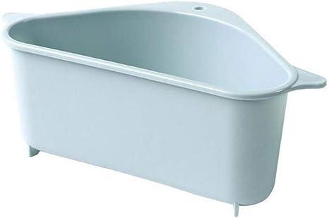 Kitchen Triangular Sink Strainer Drain Fruit Vegetable Drainer Basket Suction
