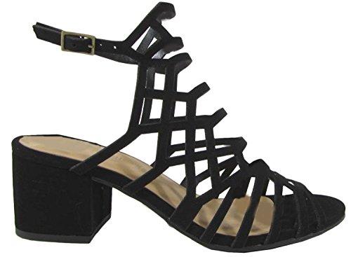 Sandali Con Tacco Geometrico Delle Donne Classificate Delle Donne Con Tacco Largo