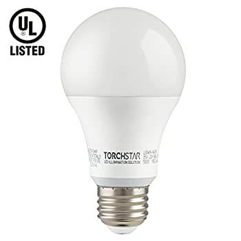 Garage Door Opener LED Bulb, 100W Equivalent LED A19 Light Bulb, 1600 Lumens Ultra-Bright, 5000K Daylight, Non-Dimmable, Standard E26 Medium Base, UL-listed, Damp Location rated