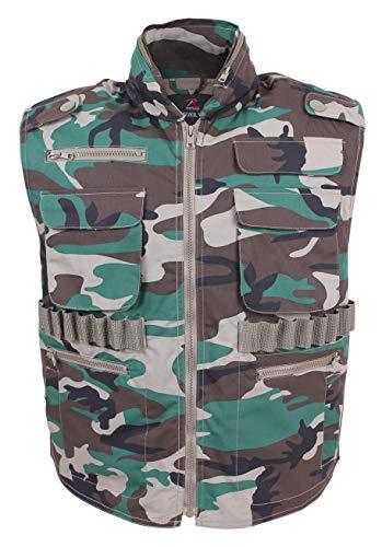 ROTHCO Ranger Vests, Woodland Camo, M