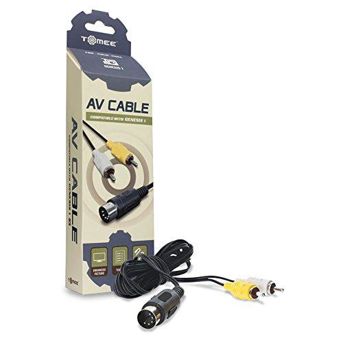 Tomee AV Cable for Genesis 1 (Cable Sega Av Master)