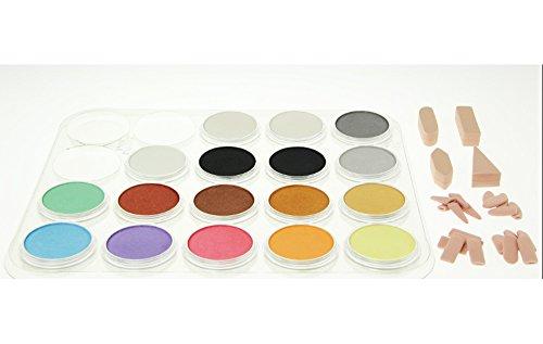 Panpastel 17 Metallic/Pearl/Medium Set by Colorfin