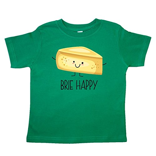 Wedge Kelly Green - inktastic Brie Happy Toddler T-Shirt 4T Kelly Green 2f9a9
