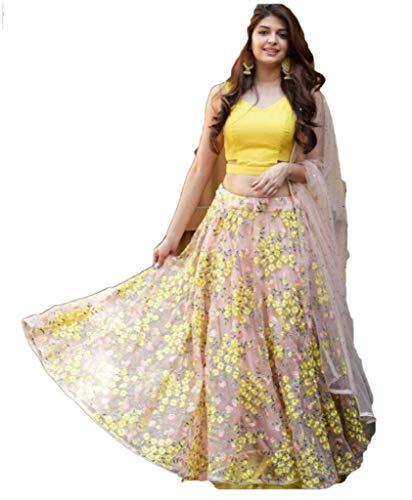 - REKHA Diwali Latest Indian Designer Lehenga Choli Embroidery Work Pary Wear Lehenga Choli 21