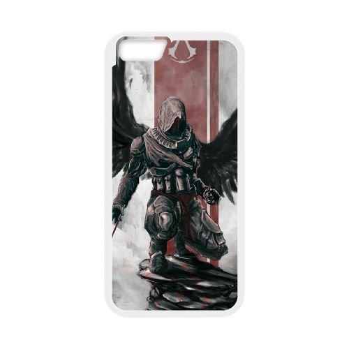 Ezio Auditore Da Firenze 003 coque iPhone 6 4.7 Inch Housse Blanc téléphone portable couverture de cas coque EOKXLLNCD15851