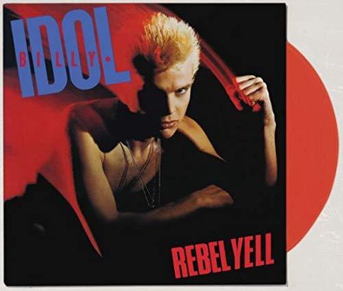 Billy Idol  Rebel Yell (Limited Edition Translucent Red Vinyl)