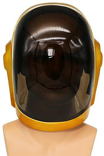 Daft Punk Helmet Deluxe Resin Full Head Mask Cosplay Costume Props for Men Xcoser
