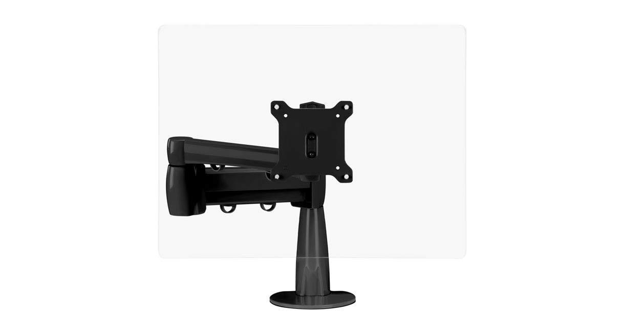 UPLIFT Desk - Range Single Monitor Arm (Black) by UPLIFT Desk