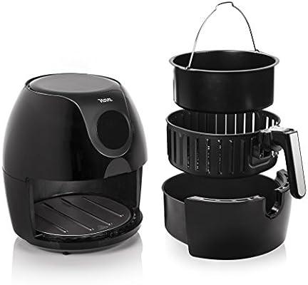 Nova Freidora Digital Sin Aceite Familiar XXL, Freidora de aire caliente, 1700 W, capacidad 5.2 L, negro (Clase de eficiencia energética A++)