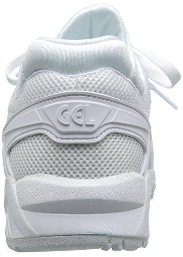 Asics para hombre Gel-Kayano Trainer Evo malla formadores White-White