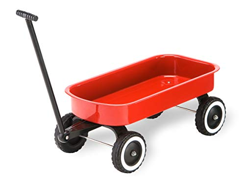 Morgan Cycle Tot Doll Wagon RED