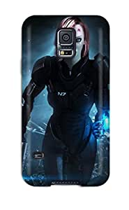 Areebah Nadwah Dagher's Shop Defender Case With Nice Appearance (mass Effect) For Galaxy S5 9589259K91986920