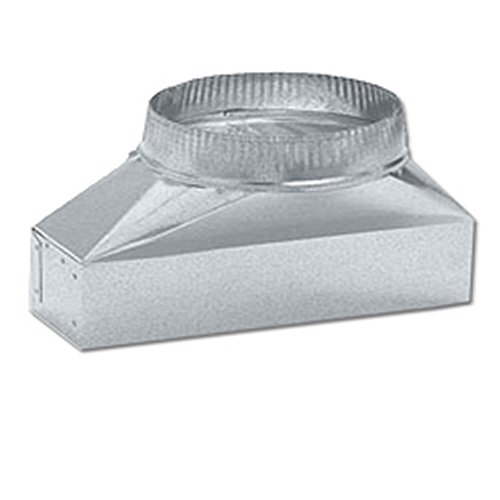 Broan/Nutone 412H Round Transition Duct for Range Hoods and Bath Ventilation Fans - 7