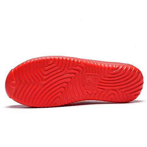 da Zoccoli Scarpe da Estate Giardino Rosso da Spiaggia Uomo da Spiaggia Easondea Pantofole Sandali Donna Scarpe Pantofole Donna Pantofole Sabot Traspiranti 4tFqzaZ