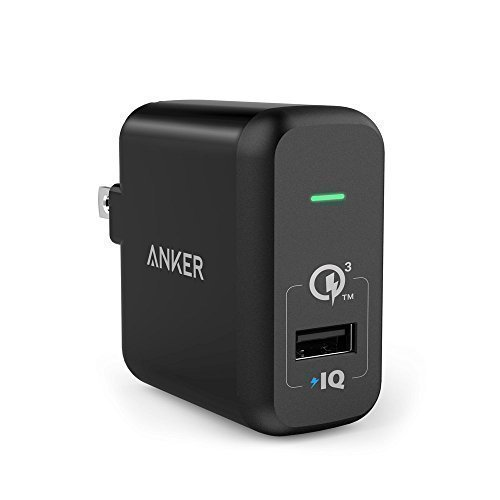 Anker 18W PowerPort+1, Quick Charge 3.0, with PowerIQ