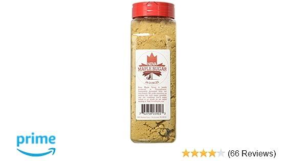 83db5a41e27 Amazon.com   Nova Maple Sugar - Pure Grade-A Maple Sugar (24 Ounces)    Grocery   Gourmet Food