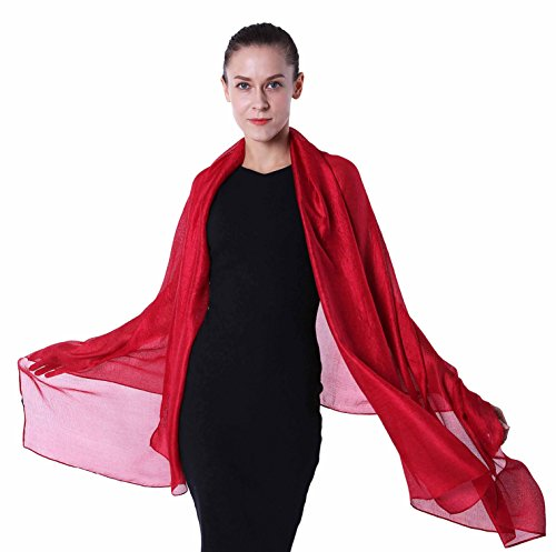 Large Sheer Shawl Wraps for Evening ()