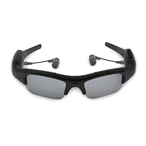 UYIKOO Video Sunglasses+mp3 player Glasses DV DVR Recorder c