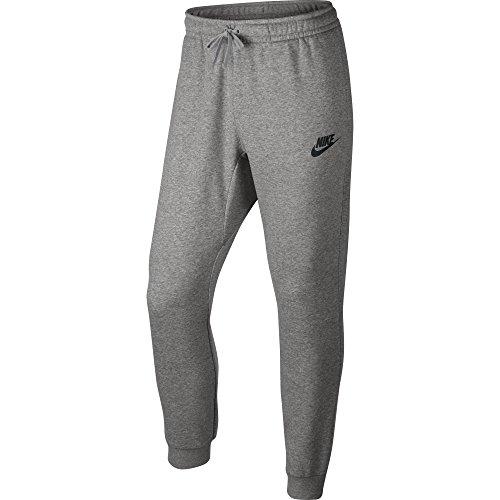 Men's Nike Sportswear Joggers Dark Grey Heather/Matte Silver/Black Large