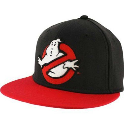 Ghostbusters Logo Flex Fit Hat (Ghostbuster Accessories)