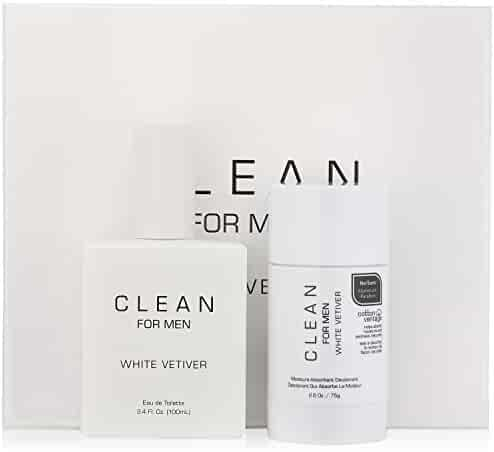 CLEAN White Vetiver Gift Set