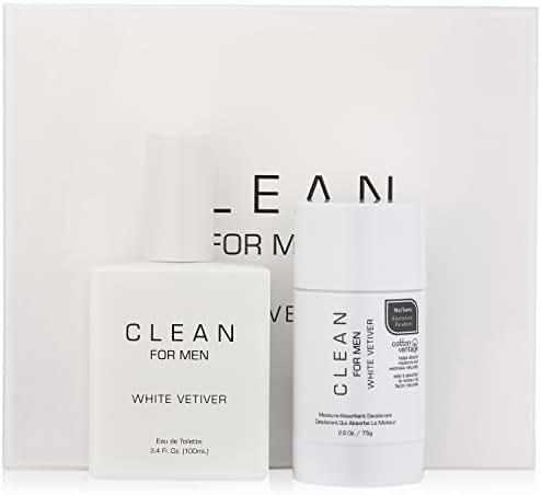 CLEAN White Vetiver Gift Set