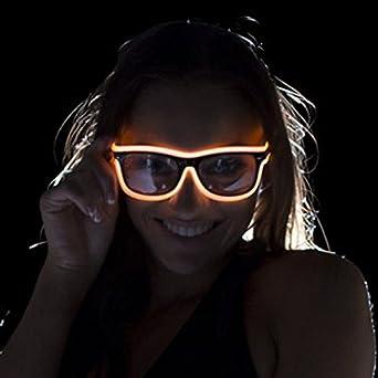 Electric Styles - Gafas de sol - para hombre naranja Talla ...
