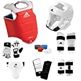 adidas Supreme TKD Sparring Gear Set W SHIN and