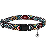 CollarDirect Aztec Cat Collar Breakaway Pack of 2