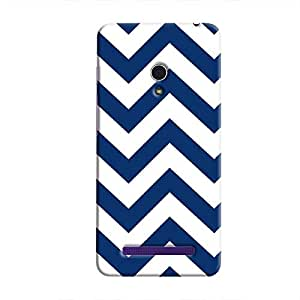 Cover It Up - Jagged Blue&White Zenfone 5Hard Case